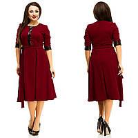 Платье женское большие размеры (цвета) АНД5058, фото 1