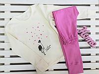 Пижамка для девочки подростка ТМ Фламинго рост 134,140