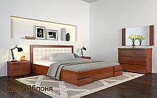 ✅Деревянная кровать Регина Люкс 120х190 см ТМ Arbor Drev, фото 3