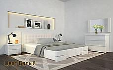 ✅Деревянная кровать Регина Люкс 120х190 см ТМ Arbor Drev, фото 2