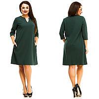 Платье женское большие размеры (цвета) АНД5055, фото 1