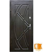"""Входные двери в квартиру Викинг серии """"Эконом"""" (венге)"""