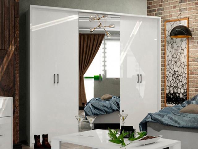 Шафа (шкаф) з ДСП/МДФ в спальню/вітальню/дитячу Рома 6Д Миро-Марк
