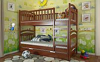 Двухъярусная деревянная кровать Смайл ТМ Arbor Drev