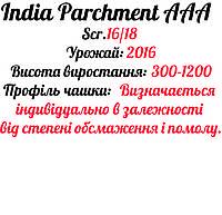 Кава зернова Робуста INDIA ROBUSTA Parchment AAA