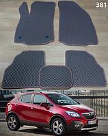 Коврики на Opel Mokka '12-. Автоковрики EVA, фото 1