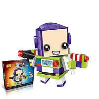LOZ 1441 Robot Toy Diamond 173 штук Building Blocks Обучение образованию Маленькие кирпичи