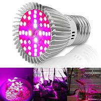 4.5W E27 40 LED Полная спектральная лампа для растущих растений Растительный цветок AC85-265V