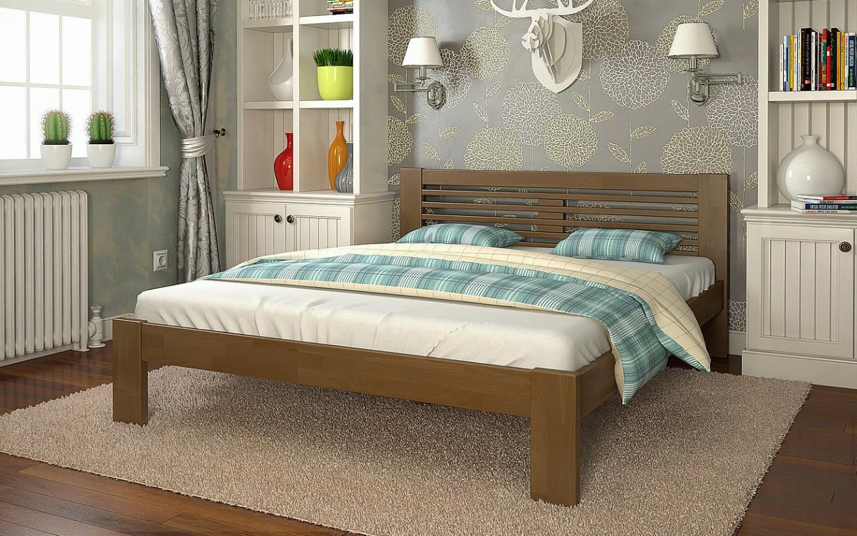 ✅Деревянная кровать Шопен 90х190 см ТМ Arbor Drev