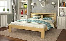 ✅Дерев'яне ліжко Шопен 90х190 см ТМ Arbor Drev, фото 3