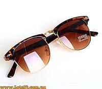 Женские солнцезащитные очки как Ray-Ban Clubmaster (леопардовые) 80ff7f7c6db