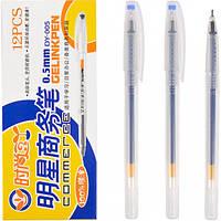 """От 12 шт. Ручка гелевая DY-005 """"Commerce"""" синяя купить оптом в интернет магазине От 12 шт."""