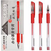 От 12 шт. Ручка гелевая GP-009 красная купить оптом в интернет магазине От 12 шт.