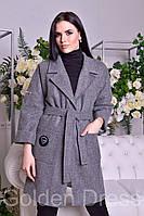 Пальто кашемировое весеннее женское (С,М,Л)