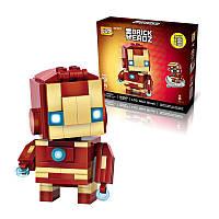 LOZ 1402 Super HeroToy 144 штук Блоки Коллекция подарков Маленькие кирпичи