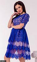 Нарядное гипюровое Платье 438067-1