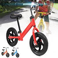 12-дюймовый детский велосипед No-Pedal Learn Ride Strider Pre Bike Регулируемое сиденье