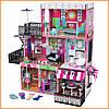 Дом для кукол KidKraft Brooklyn's Loft Бруклинский лофт кукольный домик с мебелью 65922