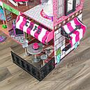 Дом для кукол KidKraft Brooklyn's Loft Бруклинский лофт кукольный домик с мебелью 65922, фото 4