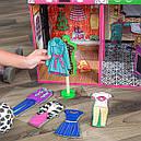 Дом для кукол KidKraft Brooklyn's Loft Бруклинский лофт кукольный домик с мебелью 65922, фото 5
