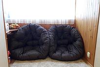 Кресла футоны это просто чудо! Кресло пришло во время мы очень рады что заказали их в количестве 2 штук!