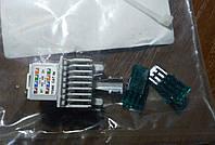 Соединительный UTP модуль 1xRJ45, кат. 5e, неэкр. R&M (R925371)