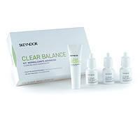 Профессиональный уход для проблемной кожи Clear Balance, набор 3 моно