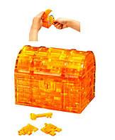 3Д пазлы кристалические Сундук