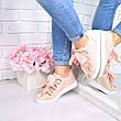 """(ТОЛЬКО 38р) Кроссовки, кеды, мокасины женские пудра """"Laces"""" эко кожа, спортивная, летняя, повседневная обувь, фото 2"""