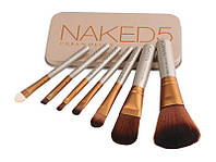 Набор косметических кистей Naked 5 (7 предметов)