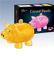 3Д пазл кристаллический Свинья Копилка