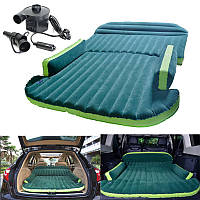 Heavy Duty Авто Travel Air Надувной матрас Sleeping Bed SUV Back Seat Mat