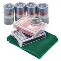 Покерный набор 200 фишек в блистере PN62035