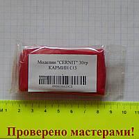 """Полимерная глина """"CERNIT-GLAMUR"""" 30 гр, КАРМИН (металлик)"""