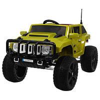 Детский электромобиль Hummer M 3570 EBLR-10: 12V 10A, 70W, 7 км/ч, EVA - ЗЕЛЕНЫЙ - купить оптом , фото 1