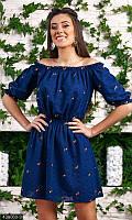 Короткое летнее Платье 438060-3