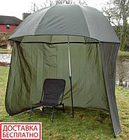 Зонт палатка карповый для рыбалки Ranger Umbrella 2.5M RA 2500 зеленый
