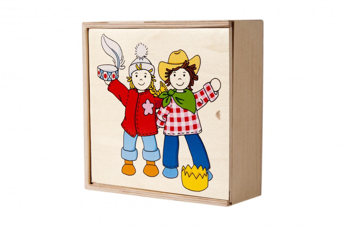 Набор кукол Бирта и Бен с одеждой goki 51557G
