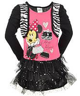 Нарядное черное платье с Минни Маус от Disney; 4 года , фото 1