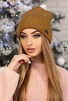 Женская шапка-колпак «Адриана» Хаки