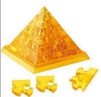 3Д пазл кристалический Пирамида Брелок