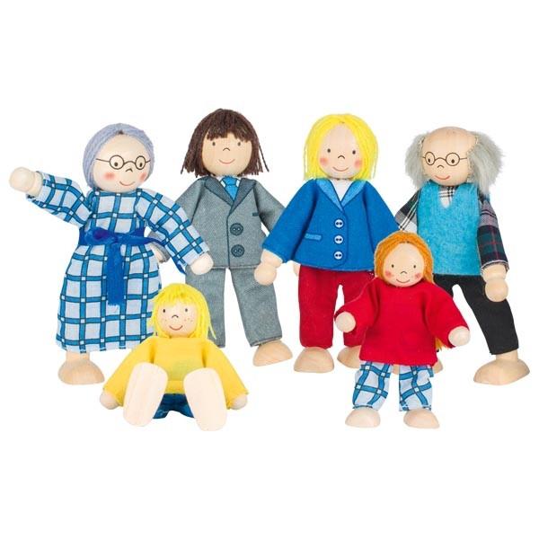 Набор кукол городская семья goki SO218G