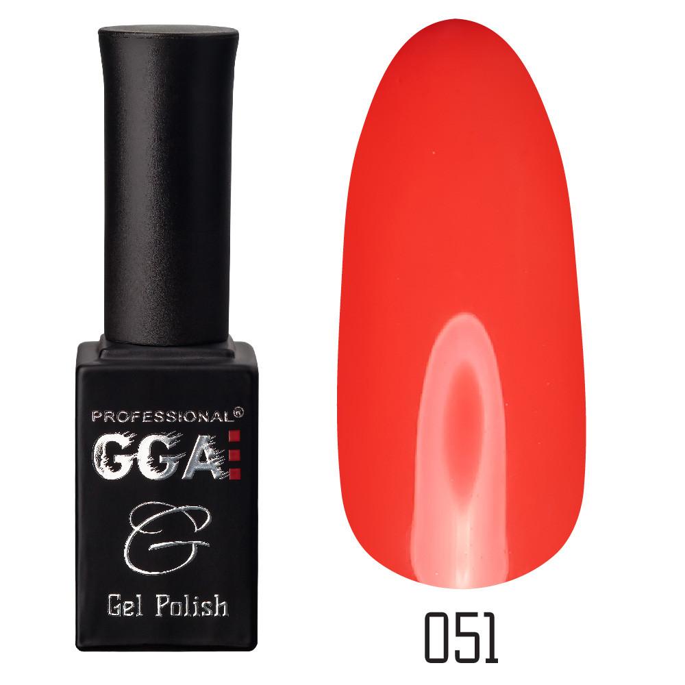 Гель лак GGA Основная палитра 051, 10мл