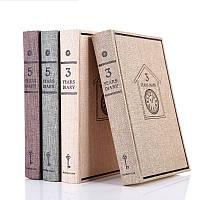 3 года / 5 лет Дневник Ретро-чехол для ноутбука Винтаж Блокнот для памятных подарков Школа Suppiles