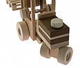 Деревянная машинка автопогрузчик goki 55901, фото 3
