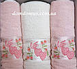 """Подарочный набор полотенец """"Rosalinda"""" (баня 1 шт., лицо 2 шт.) TWO DOLPHINS, Турция 0126, фото 2"""