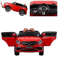Детский электромобиль Mercedes M 3103 EBLR-3: 2.4G, кожа, EVA - КРАСНЫЙ - купить оптом , фото 1
