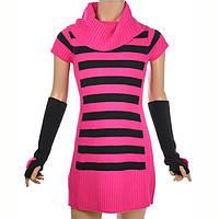 Вязаное платье для девочки; 3 года, фото 1