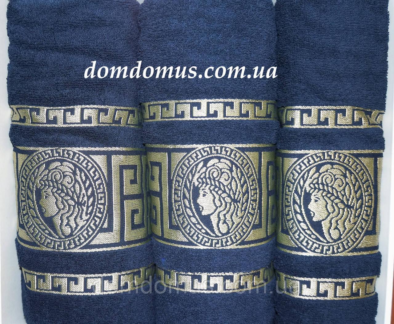 """Подарочный набор полотенец """"Greek"""" (банное+лицевое) TWO DOLPHINS 1633"""