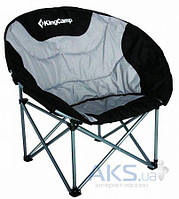 KingCamp Deluxe Moon Chair (KC3889) Black/grey Black/grey